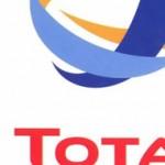 le logo du groupe Total, un des clients de l'agence de communication Nostromo