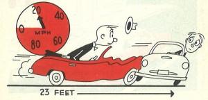Le permis de conduire il y a 50 ans n'avait pas la même aura de gravité, estime l'agence de communication Nostromo