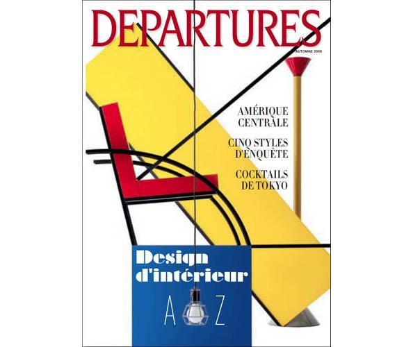 L'agence de communication Nostromo ecrit et met en page les versions francaises des magazines Departures et Centurion d'American Express