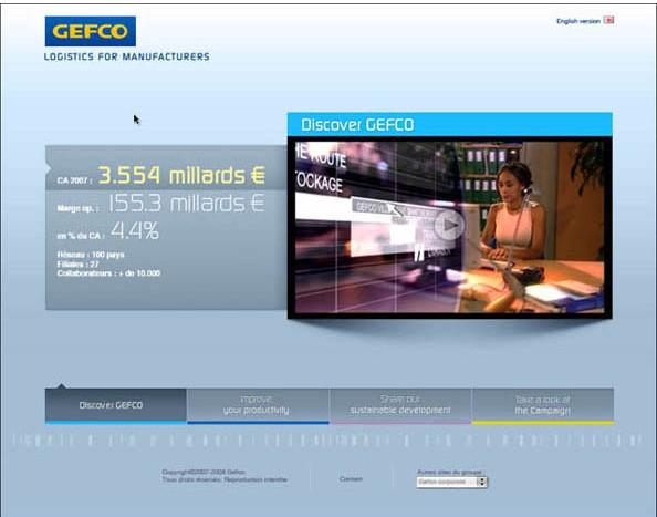 Gefco et W&Cie ont fait confiance à Nostromo agence de communication pour l'écriture de scenarii de courts-metrages pour Gefco