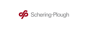le logo de Schering-plough un des clients de l'agence de communication Nostromo