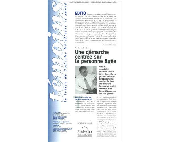 Sodexo a nommé l'agence de communication Nostromo pour la conception de son journal, la mise en page de sa communication externe et la rédaction des lettres marketing