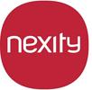 Logo de nexity, un client de Nostromo agence de communication