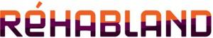 le logo de Réhabland un client de l'agence de communication Nostromo