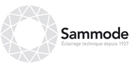 le logo de Sammode, un client de l'agence de communication Nostromo