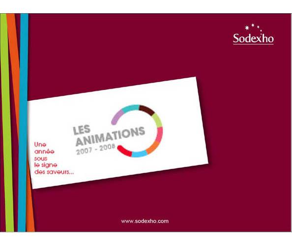 Nostromo agence de communication a conçu, rédigé et mis en page la documentation de la communication externe de Sodexo
