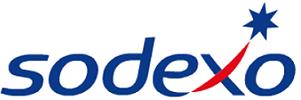 le logo de sodexo, un client de l'agence de communication Nostromo