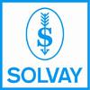 logo de solvay un client de l'agence de communication Nostromo