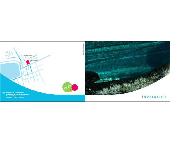 Suez environnement a demandé à l'agence de communication Nostromo de rédiger son rapport sur le développement durable, la charte partenariat, le who's who et des cartons d'invitation