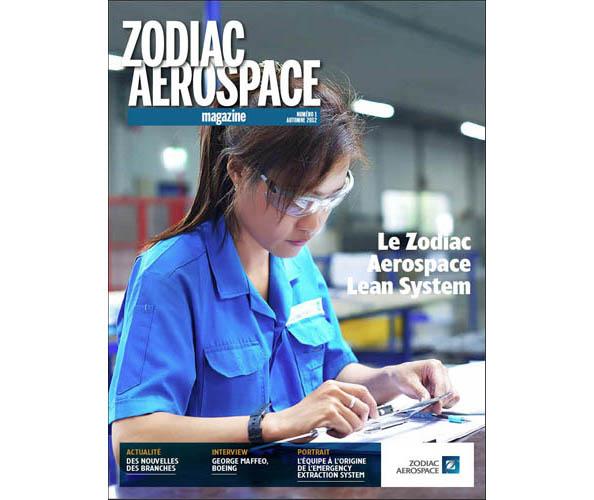 Nostromo agence de communication a réalisé et construit le journal interne de Zodiac Aérospace en 5 langues