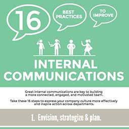 L'agence de communication Nostromo vous présente une sélection de 16 bonnes pratiques en communication interne