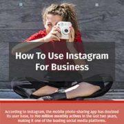 Instagram peut etre utilise pour le business, explique cette infographie partagee par Nostromo, agence de communication