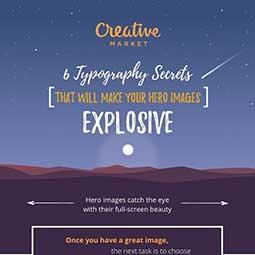 La typographie est essentielle pour rendre vos images percutantes, explique l'agence de communication Nostromo